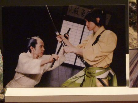 P1110360 - Nino 水野 & Ohkura 鶴岡 Fighting